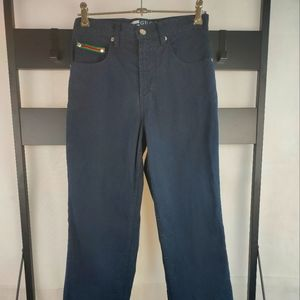 NEW Gucci Men's Zip Fly Straight Leg Slim Jeans